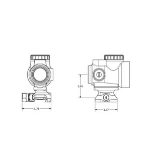 Super Precision® - MRO Series Optic Mounts