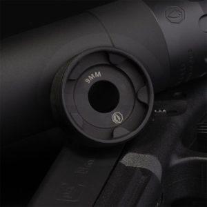 Rugged Obsidian 9mm End Cap