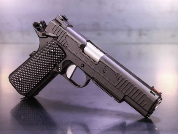 TRIARC 1911 .45 Government Frame Spartan Tactical - Black Nitride
