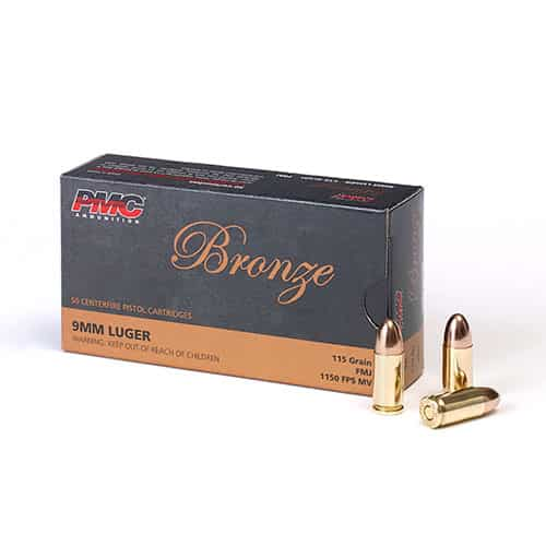 PMC 115gr 9MM - 50 Rounds
