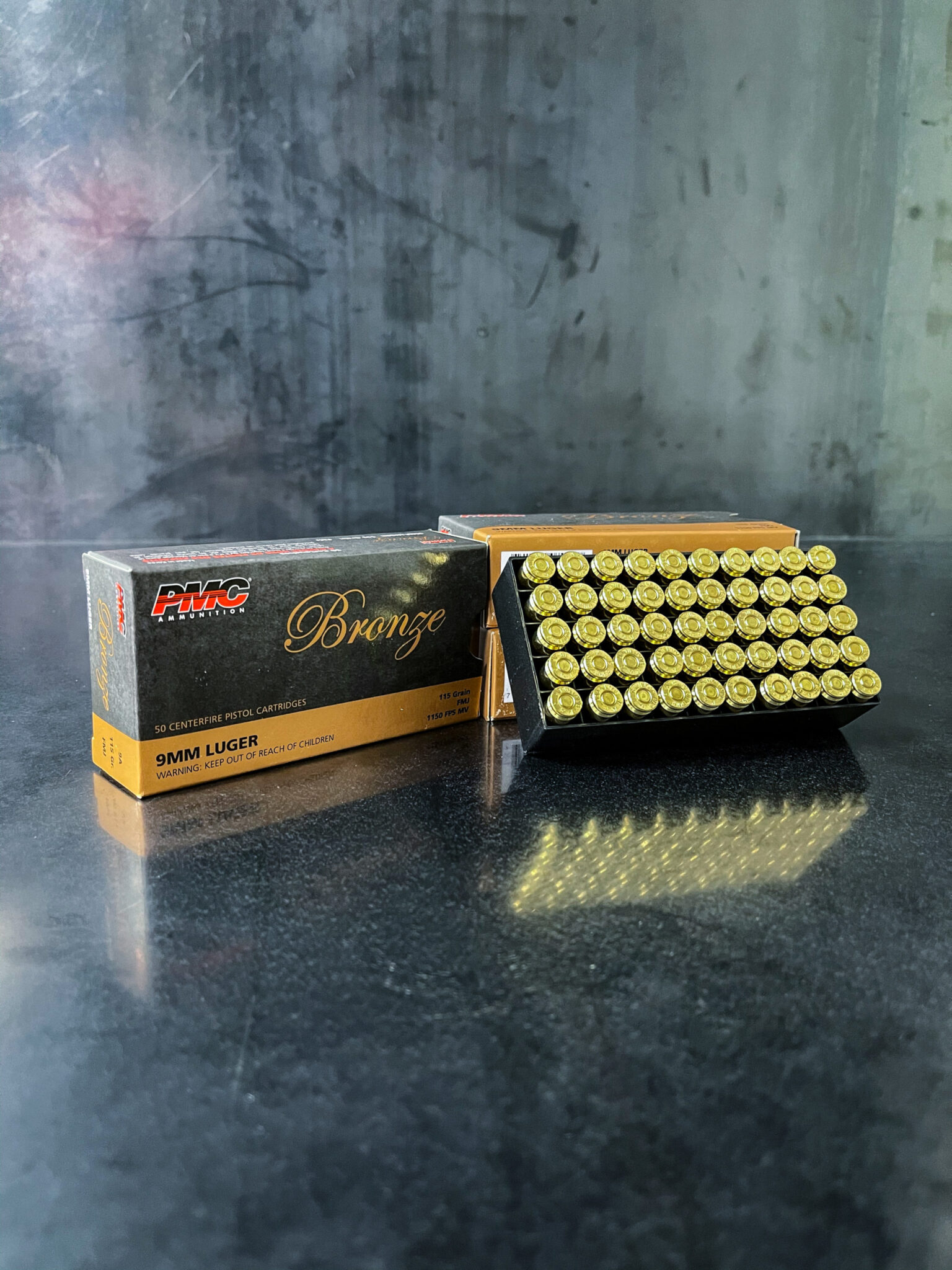 PMC 115gr 9MM – 50 Rounds