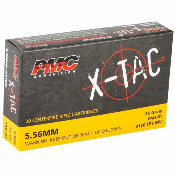 PMC X-TAC 55GR 5.56 1000 Rounds