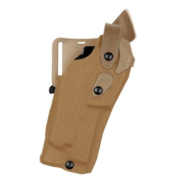 Safariland 6360RDS Glock 17/22 ALS/SLS MID-RIDE LEVEL III RETENTION DUTY HOLSTER - Coyote