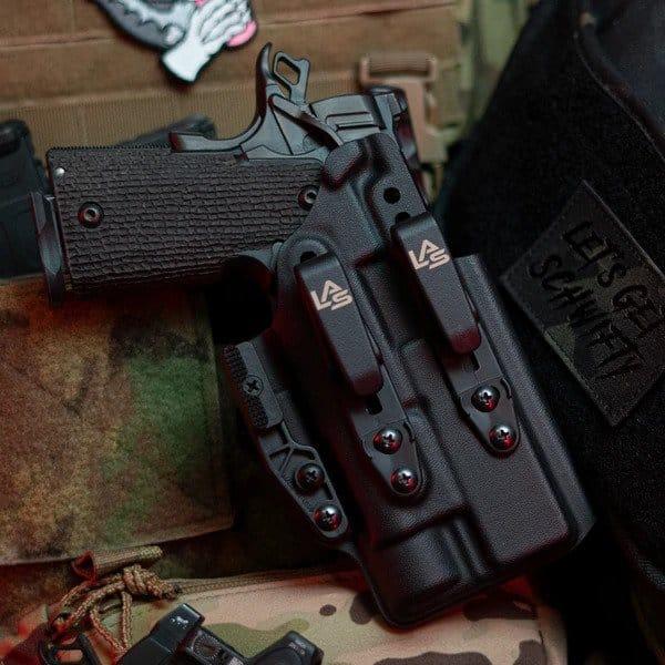 LAS Concealment Saya 2.0 9mm with x300U/XH30/XH35 - TRI-11 Commander or Government